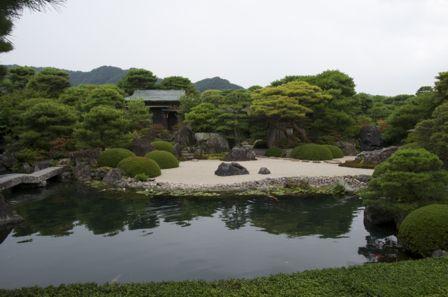 足立美術館 池庭