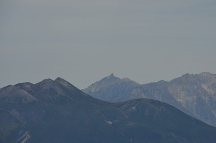 御嶽山から見た剣岳