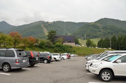 白馬五竜スキー場 駐車場