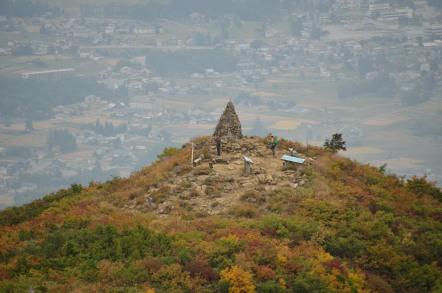 五竜岳 登山 見返坂
