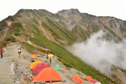 岳 山荘 五竜