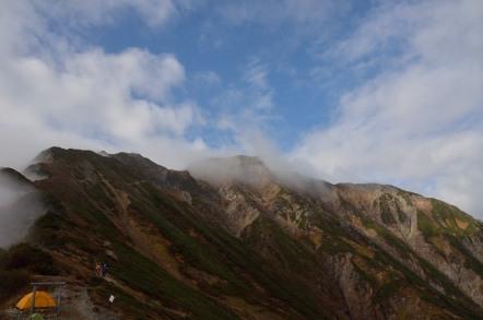 五竜岳 五竜山荘