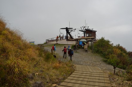 五竜岳 アプルス展望リフト