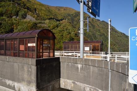 奈川渡ダム 横断地下道