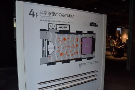 名古屋市科学館 5階 科学原理とのふれあい