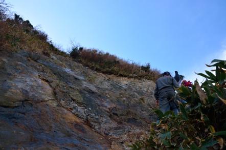 冠山 登山