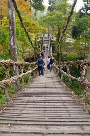 福井県 かずら橋 志津原リゾート