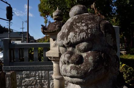 足助八幡宮 狛犬