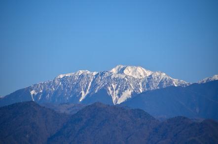 大沢岳 赤石岳