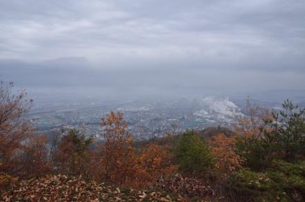 鳩吹山展望台からの眺め