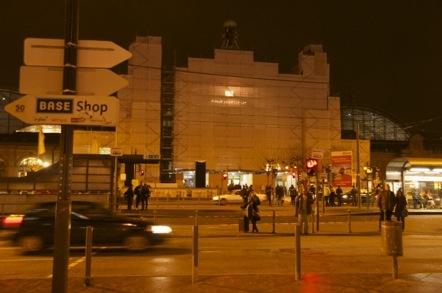 フランクフルト中央駅 改装工事