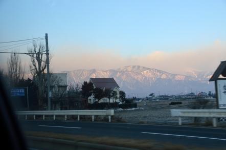 長野県松本市 国道158号線 野麦街道