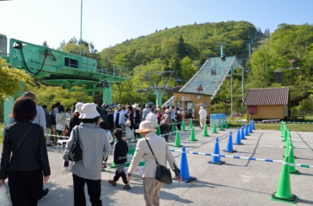 茶臼山高原 リフト