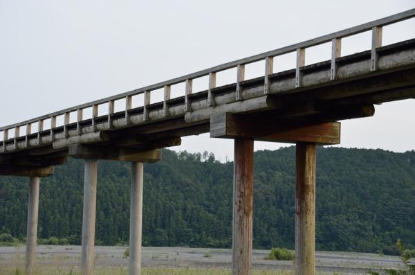 蓬莱橋 橋脚