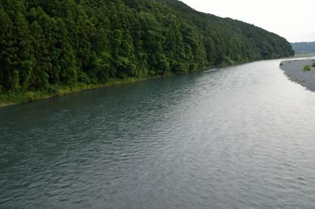蓬莱橋 大井川