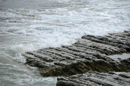 御前崎海岸 鬼の洗濯岩