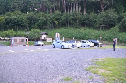 下栗の里 はんば亭 駐車場