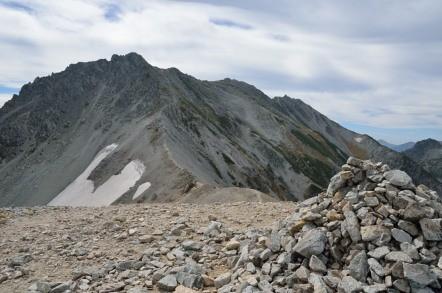 真砂岳 山頂