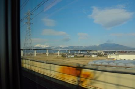 新幹線 車窓