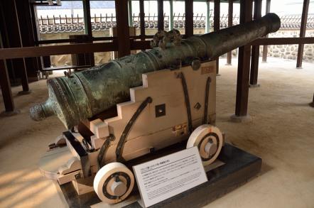 ブロンズ製12ポンド砲