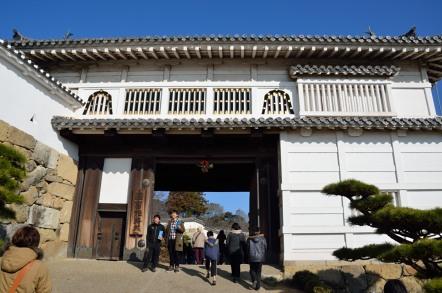 姫路城 菱の門