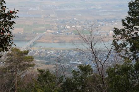 石津御岳 4合目 展望デッキ