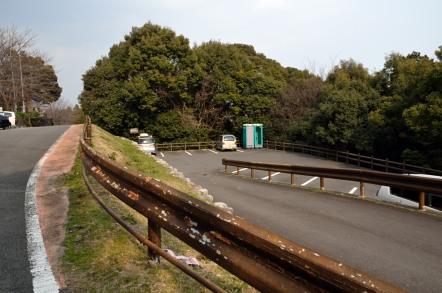 愛宕神社駐車場