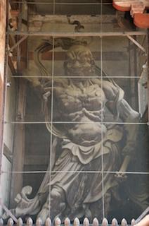 東大寺 南大門 吽形像