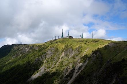 美ヶ原高原 ハイキング道 アルプス展望コース