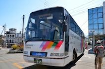 栂池高原バス停