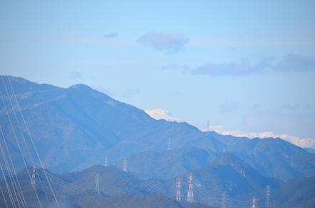 猿啄城展望台 白山
