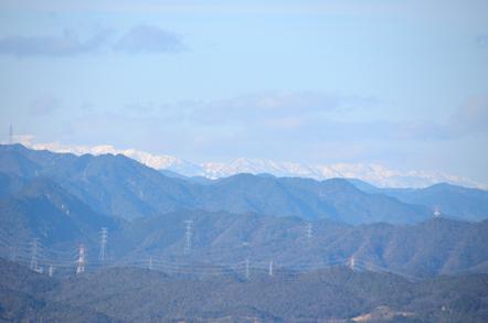 猿啄城展望台 能郷白山