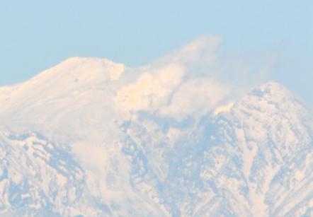 猿啄城展望台 御嶽山