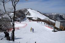 御在所岳 冬 御在所岳スキー場