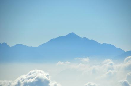 木曽駒ヶ岳 千畳敷カールからの南アルプス 甲斐駒ヶ岳