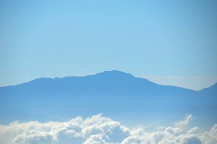 木曽駒ヶ岳 千畳敷カールからの南アルプス 間ノ岳