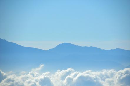 木曽駒ヶ岳 千畳敷カールからの南アルプス 農鳥岳