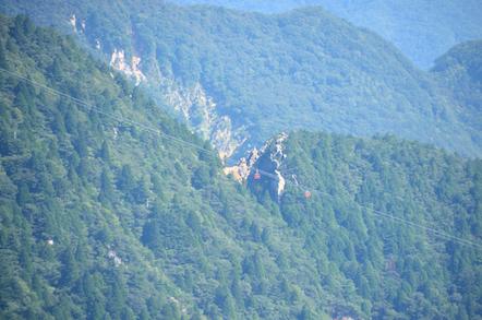 鎌ヶ岳 山頂 御在所岳 キレット