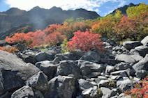 涸沢小屋 〜 ザイテングラート 〜 穂高岳山荘