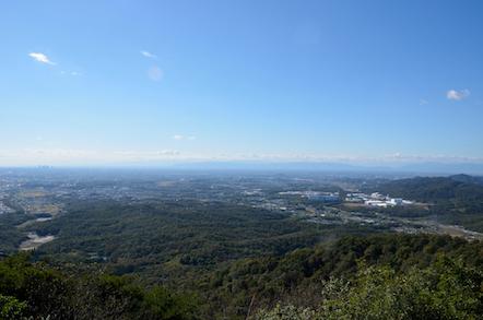 弥勒山 山頂