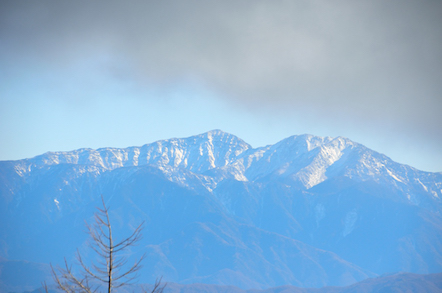 北岳 中白根山