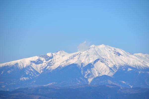 富士見台高原から御嶽山