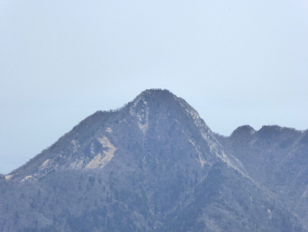 雨乞岳 山頂