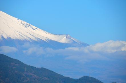 富士山 宝永火口