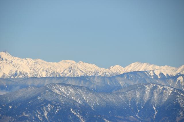 木曽駒ヶ岳 山頂からの眺め 鹿島槍 五竜岳 唐松岳