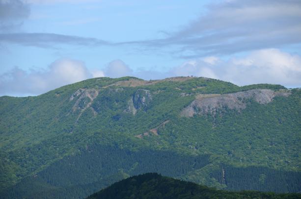 竜ヶ岳 山頂からの眺め 御池岳