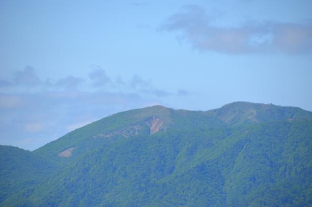 竜ヶ岳 山頂からの眺め 雨乞岳・東雨乞岳