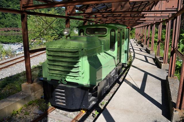 立山カルデラ砂防博物館 トロッコ列車