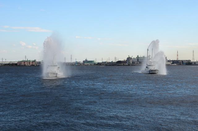 第四管区総合訓練 放水展示訓練
