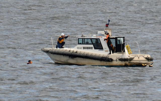 第四管区総合訓練 人命救助訓練 監視取締艇 SS60 さあぺんす